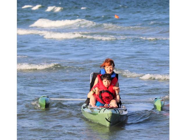 Vară activă pentru persoanele cu dizabilități din Călărași