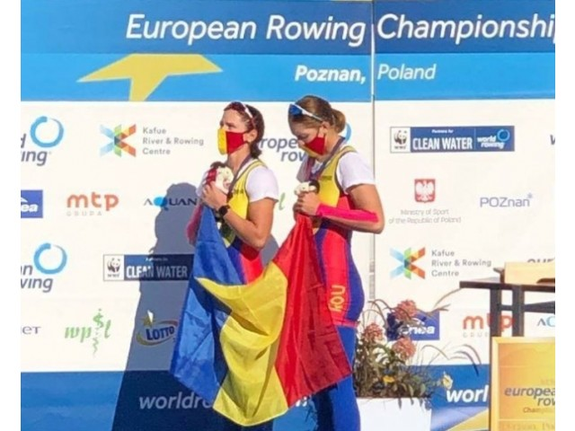 Medalie de aur pentru CSM Călărași, la Campionatele Europene de Canotaj