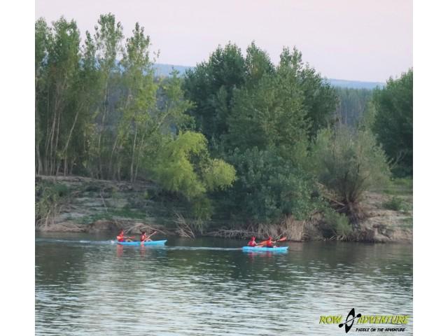 ROW for FUN – Sucidava Adventure: Plimbări cu canoea pe Dunăre, printre mrejele istoriei antice