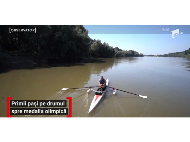 Row Adventure  |  Costi, primul canotor cu dizabilităţi din România, a început antrenamentele pe apă pentru Campionatul Mondial de Canotaj