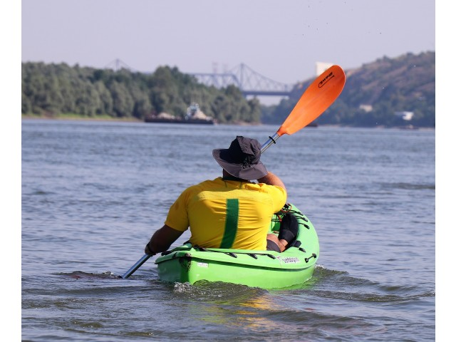 Rowing Adventure in CBC area | O săptămână  cu caiacul, pe Dunăre
