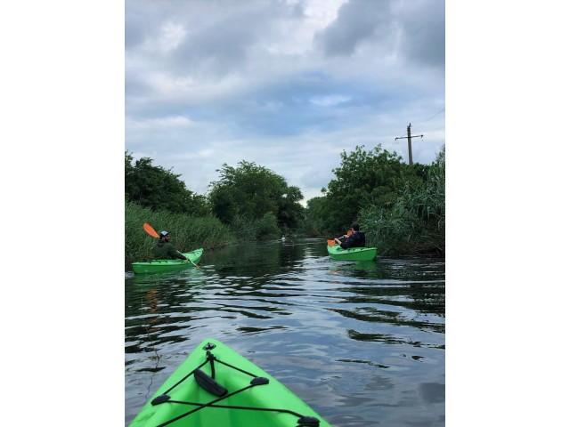 Rowing Adventure in CBC area: Descoperim frumusețea naturii lacustre cu caiacul, pe Dunăre