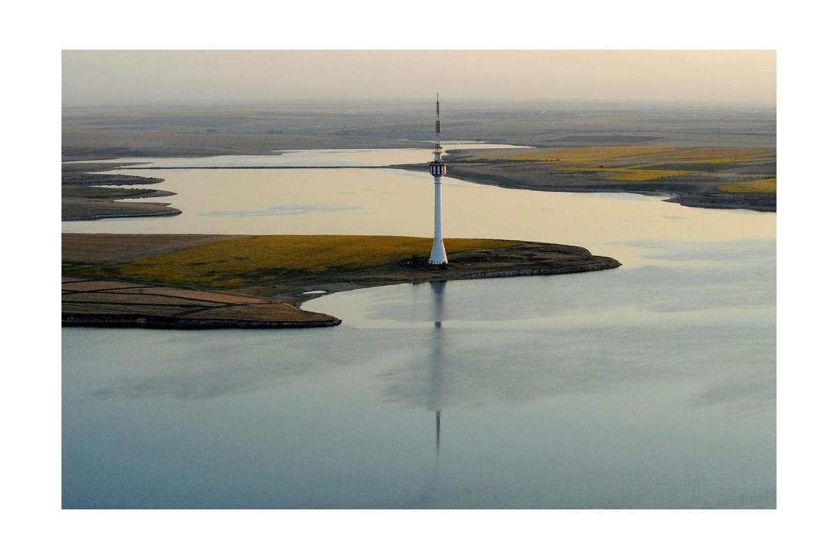 Techirghiol Lake rowing route